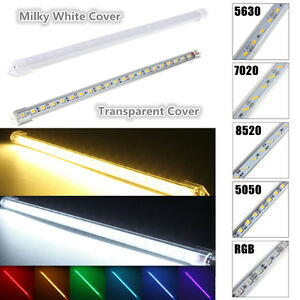 30-50CM-LED-SMD-Aluminum-Cabinet-Lampe-Bande-Tube-Bar-Rigide-Light-Strip-DC-12V