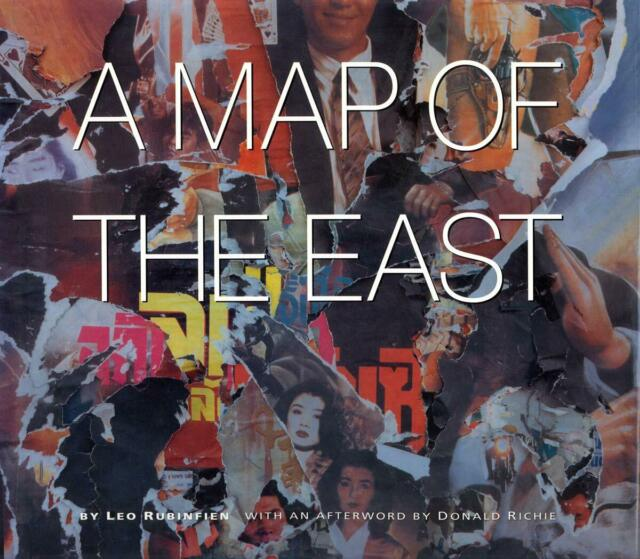 A Map Of The East - Leo Rubinfien - Paperback Book