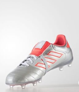 9e26426190b6 COPA GLORO 17.2 FIRM GROUND BOOTS Silver Metallic/Footwear White ...