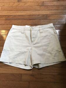Zena-Jeans-Brand-Khaki-Shorts-Women-039-s-Size-10