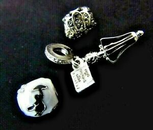 DISNEY-MARY-POPPINS-CHARMS-UMBRELLA-BAG-AND-ENAMEL-BEAD-3-PC-f-bracelet-POUCH