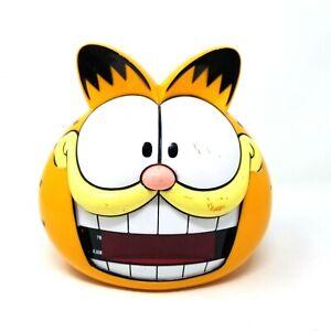 Sunbeam Garfield Head Digital Alarm Clock Model 887 109 Electric Talking Ebay
