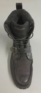 US-Polo-Assn-Mens-Single-Boot-RIGHT-FOOT-ONLY-1-Shoe-Sz-13-Tall-Moto-Black-Winte