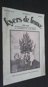 Revista Dibujada Hornillos de France Mensual N º 10 Diciembre 1931 ABE
