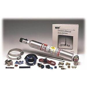 NOS 05029 Sneeky Pete Hidden Nitrous System Kit w//10 oz Bottle Carbureted Only