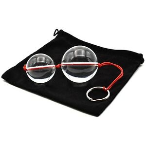 Ben Wa Balls Kegel Exercise Triple Tightening Vaginal Duo Tone Glass 50 40mm Kit Ebay