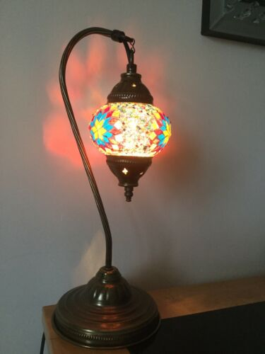 AMAZING HANDCRAFTED Turkish/&Moroccan Mosaic Table Lamps for Living Room/&Bedroom