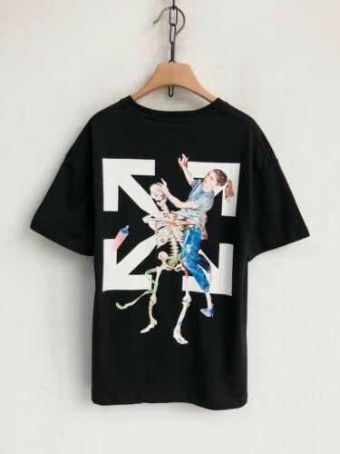 NEW 20SS OFF-WHITE C//O VIRGIL ABLOH T-Shirt Unisex Hip Pop T shirt Short Sleeve