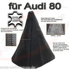 Audi 80 B4 Real Leather Gear Schaltmanschette New Sealed
