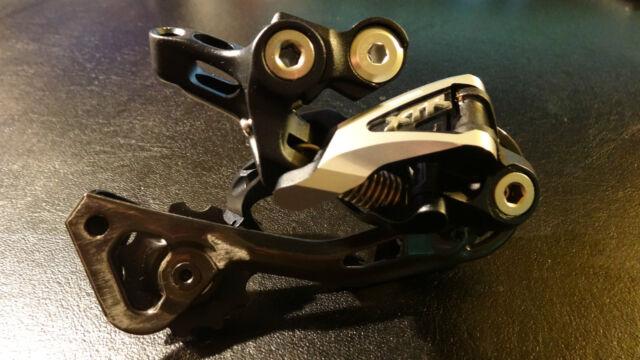 NEW Shimano XTR RD-M981 GS Dyna Sys MTB Bike Rear Derailleur Shadow 10 Speed