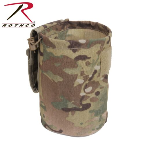 Tactical Dump Pouch Roll Up Utility  MOLLE Compatible Rothco 51007
