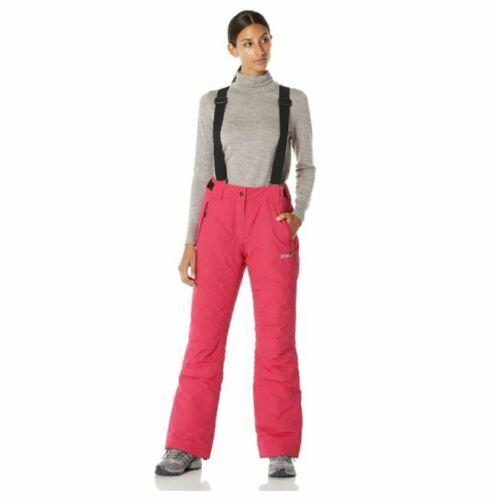 5Oaks Women/'s Basic Ski Snow Bib Pant with Adjustable Suspenders Size XL
