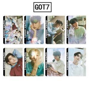 KPOP-GOT7-Album-Present-YOU-PhotoCard-Lomo-Card-Posters-Photo-Card-Bookmark