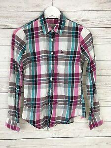 Women-039-s-Jack-Wills-Shirt-UK8-Check-Great-Condition