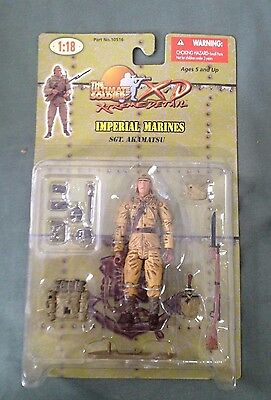 Ultimate Soldier 2005 1:18 Imperial Marines Sgt Akamatsu