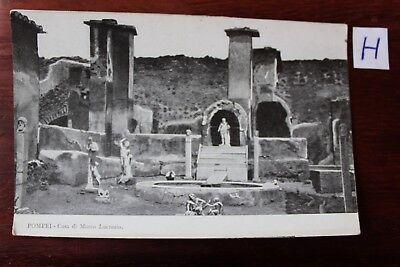 Hell Postkarte Ansichtskarte Italien Pompei Casa Di Marco Lucrezio Niedriger Preis