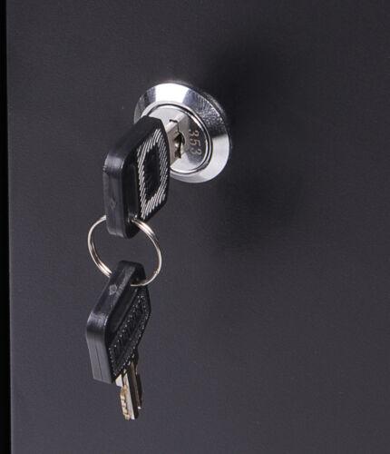 Ondis24 Werkzeugschrank 40 cm Hängeschrank für Werkstatt abschließbar Lochwand