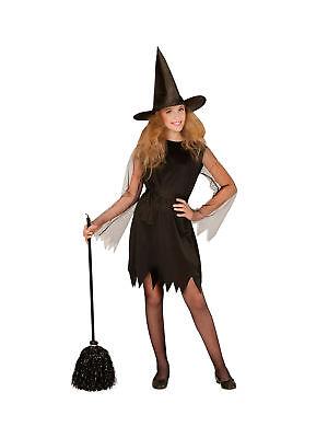 """Kostüm für Kinder /""""Schwarze Hexe/"""" Karneval Fasching Halloween"""