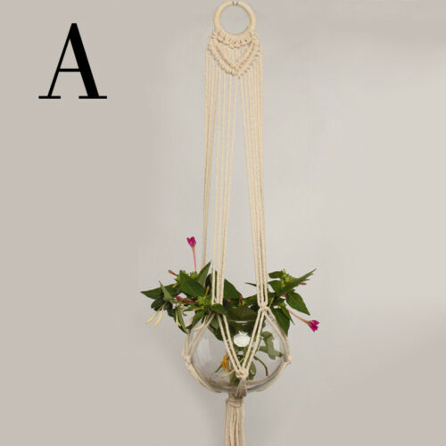 6 Styles Home Decor Garden Plants Hanging String Plant Hanger Balcony Home Pots