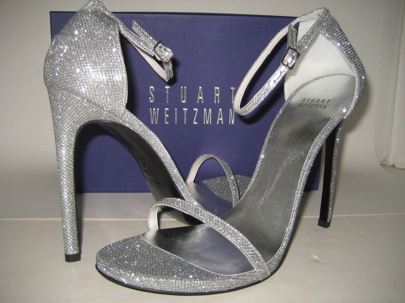 Neu Stuart Weitzman Nudist Kleid Sandalen Us 11.5 M Schuhe mit Hohem Absatz  | Exquisite Verarbeitung