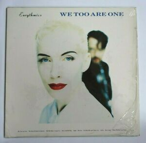 EURYTHMICS-We-Too-Are-One-Vinyl-LP-Album-1989-RCA-PL-74251-Lyric-Poster