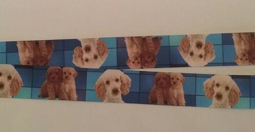 Cockerpoo dog lanyard safety breakaway ID badge holder handmade student gift