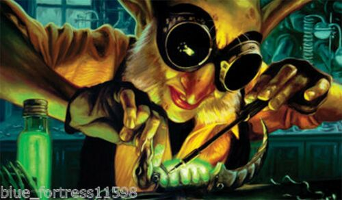 GOBLIN ENGINEER PLAYMAT FOR Magic the Gathering cards or WoW ACTION SPORTS