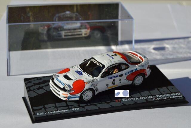 RALLY IXO DIECAST 1/43 Toyota Celica Turbo C.Sainz - L.Moya eRAL061