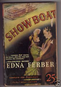 Show Boat Edna Ferber Pocket Book 13 2nd Print C1939 Ebay