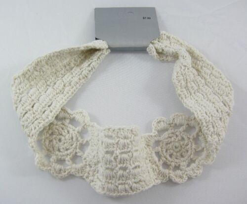 One New Crochet Style Light Tan Knit Headband NWT #H2040