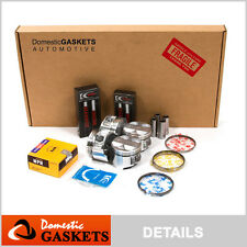 94-00 Honda Civic Si Del Sol 1.6L Full Gasket Pistons&Bearings&Rings B16A2 B16A3