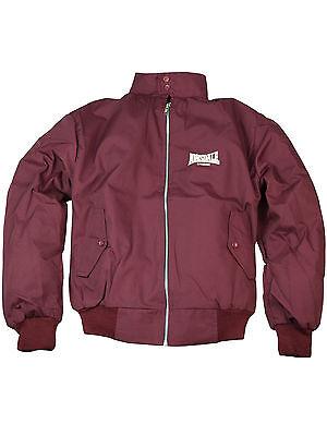 Lonsdale Harrington Übergangsjacke England Jacket Bordeaux