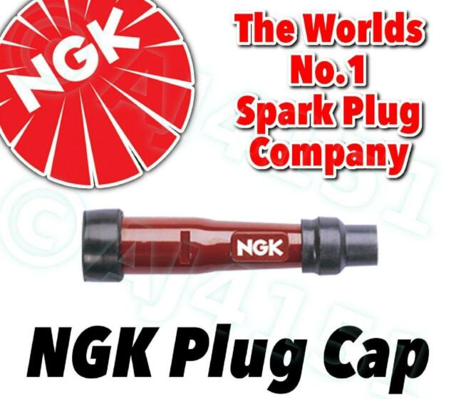 Red NGK SD05F-R Spark Plug Cap 8238 Resistor Cover