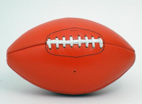 NEW Vintage Football americano in pelle stile retrò cucito a mano Pizzo-Up Ball