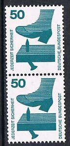 Bund-700A-Ra-senkr-Paar-m-spi-Ausgleichz-ob-ohneNr-Unfallverhuetung-50Pf