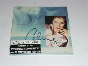Celine-Dion-Because-you-loved-me-CANADIAN-CD-Single-SEALED
