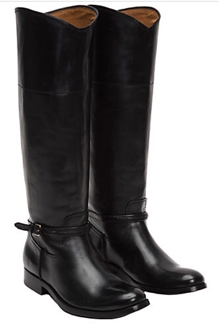 NWT Womens Womens Womens Frye  398 Mellissa Seam Pull on riding boots size 7-Fast Shipping 3c8a48