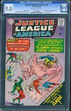 Justice League of America 37 CGC 9.0 Silver Age Key DC 1st Mr Terrific IGKC L@@K