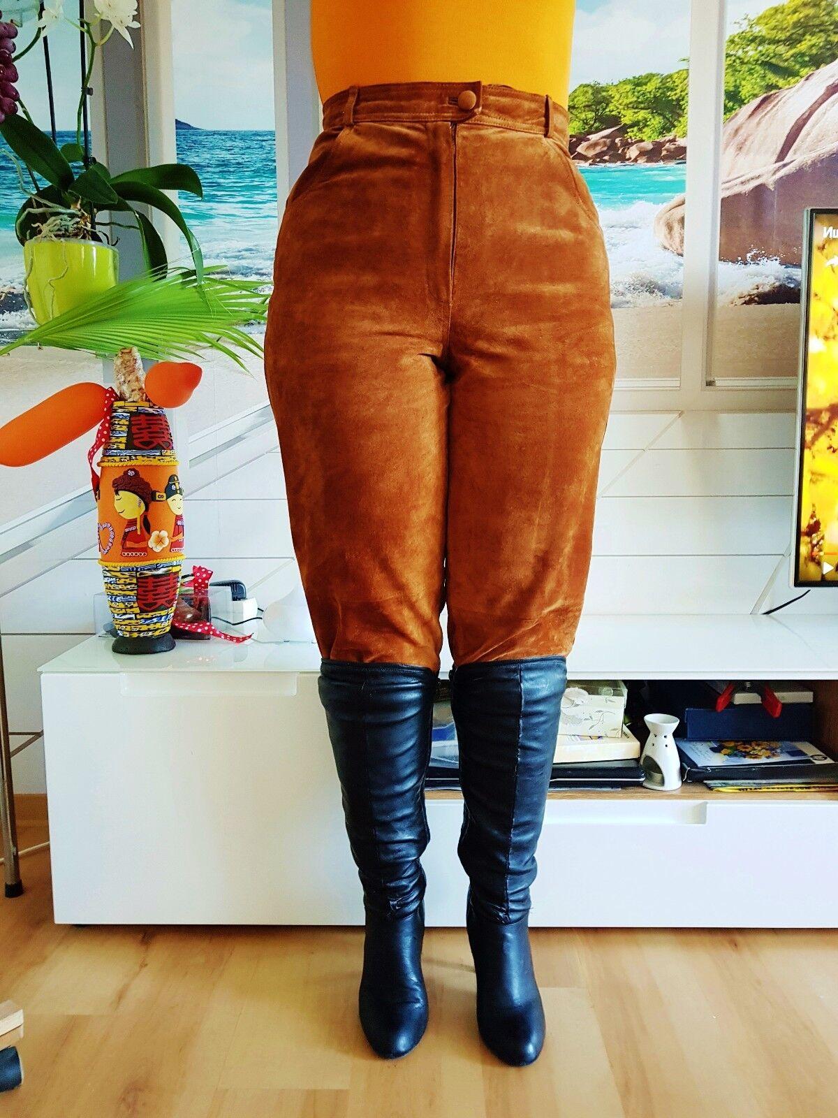 Damen Damen Damen  Lederhose Lederjeans Lederpants  TOP. Gr.42 | Luxus  | Großer Verkauf  | Qualität Produkte  | Jeder beschriebene Artikel ist verfügbar  87b081