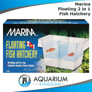 Marina floating 2 in 1 fish hatchery aquarium fish for Aquarium fish trap