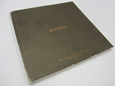Genuine Boucheron Pointe de Diamant 69 Page Multilingual Instructions Manual