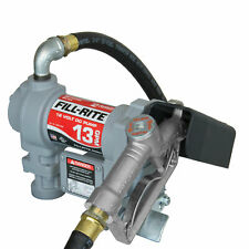 Fill Rite Sd1202g 12 Volt Dc Motor Fuel Transfer Pump With Hose Amp Manual Nozzle