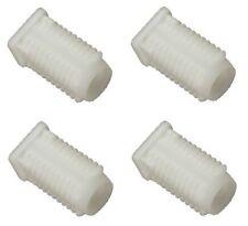4 x Genuine Ifor Williams Trailer Ramp White Pivot Hinge Plastic Bush - P1246