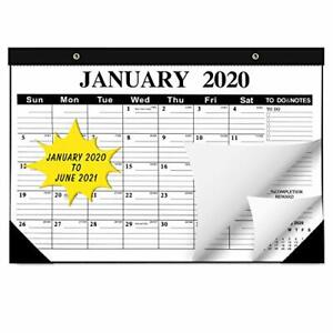2020-2021 Desk Calendar, Large Monthly Pages 22 x17 inches ...