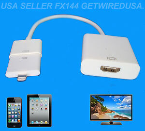 hdmi to iphone 6 apple 8 pin lighting to av hdmi tv iphone 6 plus 4051