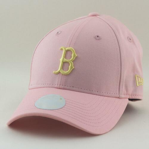 Ladies Boston Red Sox New Era MLB m 9Forty Hat In Pink Womans Baseball Cap