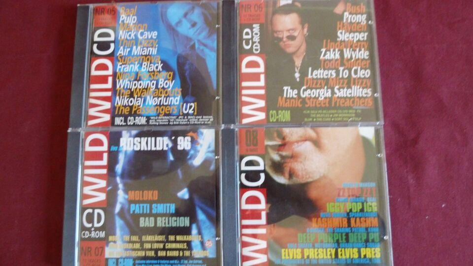 Wild cd-Magazine, rock