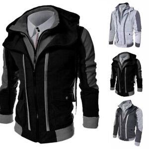 Coat-Men-039-s-Outwear-Sweater-Hooded-Winter-Jacket-Warm-Sweatshirt-Hoodie-Tops