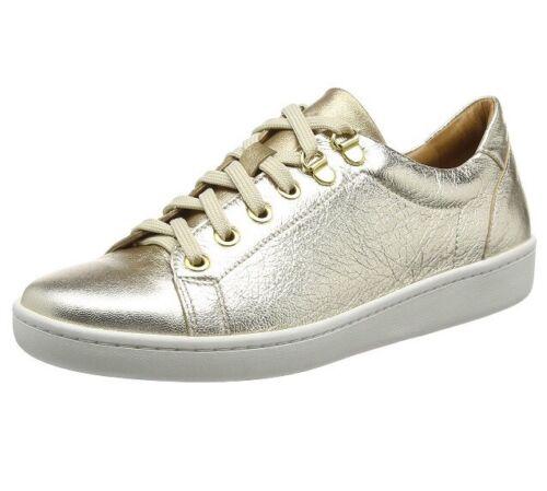 Damen Eu Carvela 5045068834803 4 Sneakers Gold 37 Damen Low Gold Top für Uk Pddq6