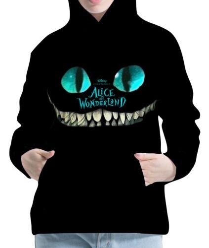 Alice In Wonderland Damen Kapuzenpullover Hoodie Hoody Sweater wb114 aco30464